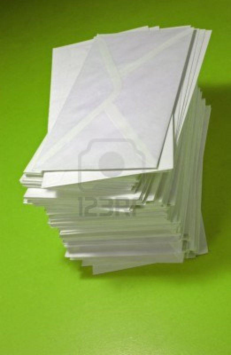 1007603-pile-of-envelopes-over-orange-background