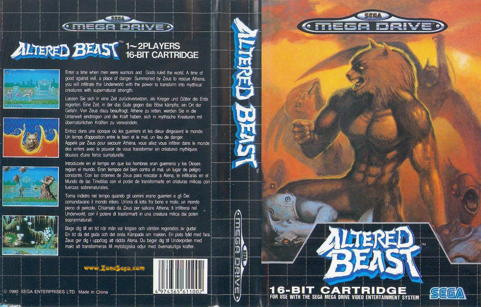Altered Beast [EUR]